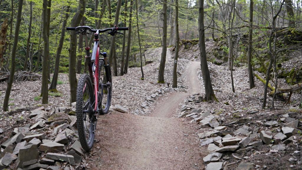 I stoupací trail vás tady bude bavit