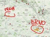 Mapa trailů a trailových center - TrailHunter.cz