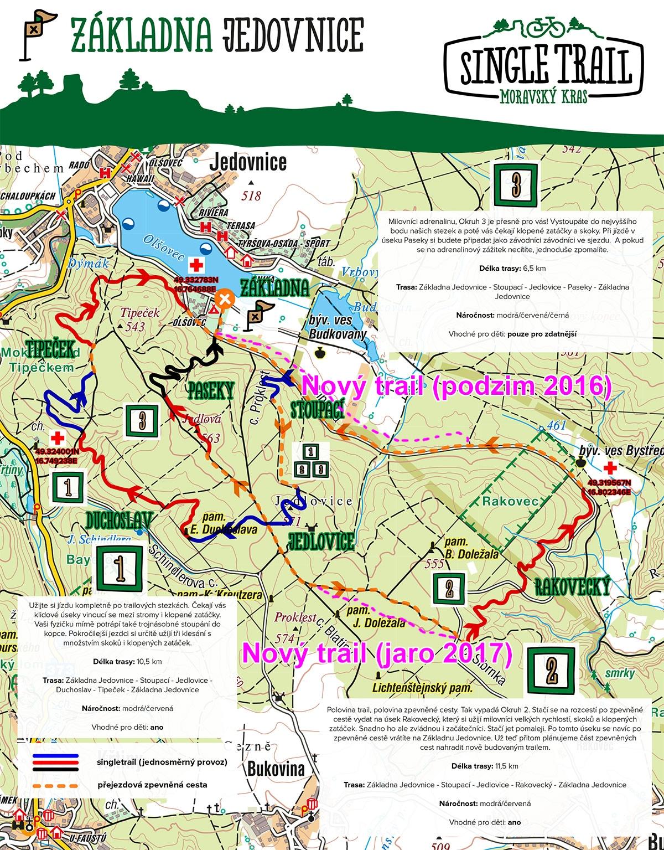 Novy trail Jedovnice