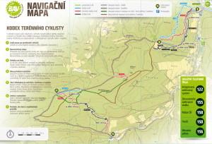 Bike Arena Vsetin mapa