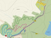 Boskovice singletraily mapa