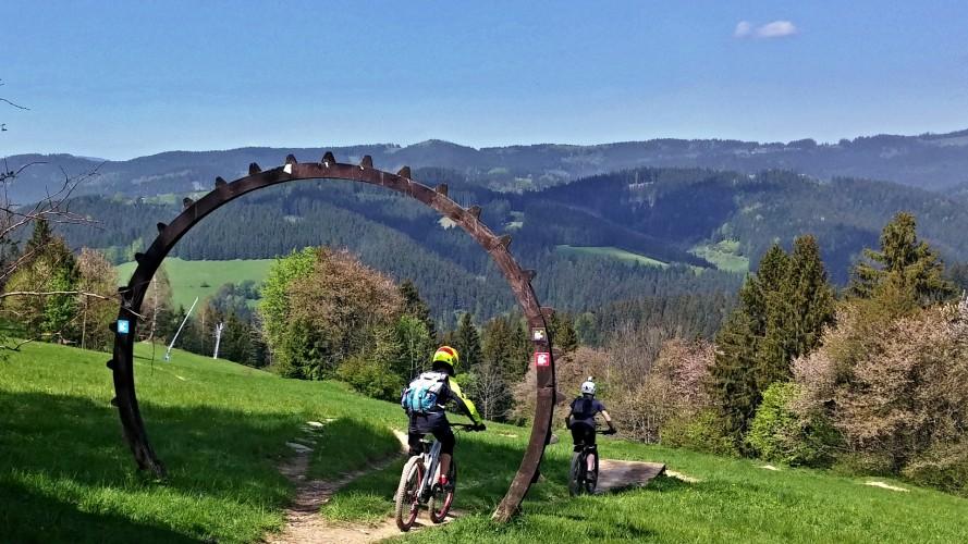 Kyčerka: nebojte se slova bikepark