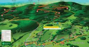 Rychlebské stezky mapa