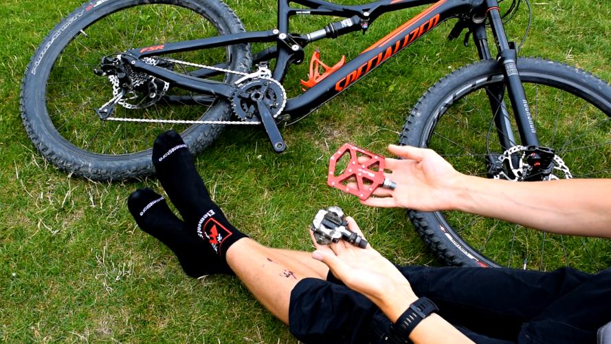 Boty na kolo: jsou na traily lepší nášlapy nebo platformy?