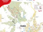 Cyklo aréna Vysočina mapa