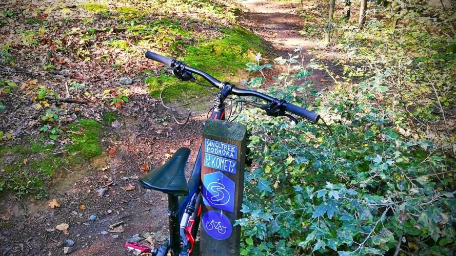 Singltrek Podhůra: kam s dětmi na kolo