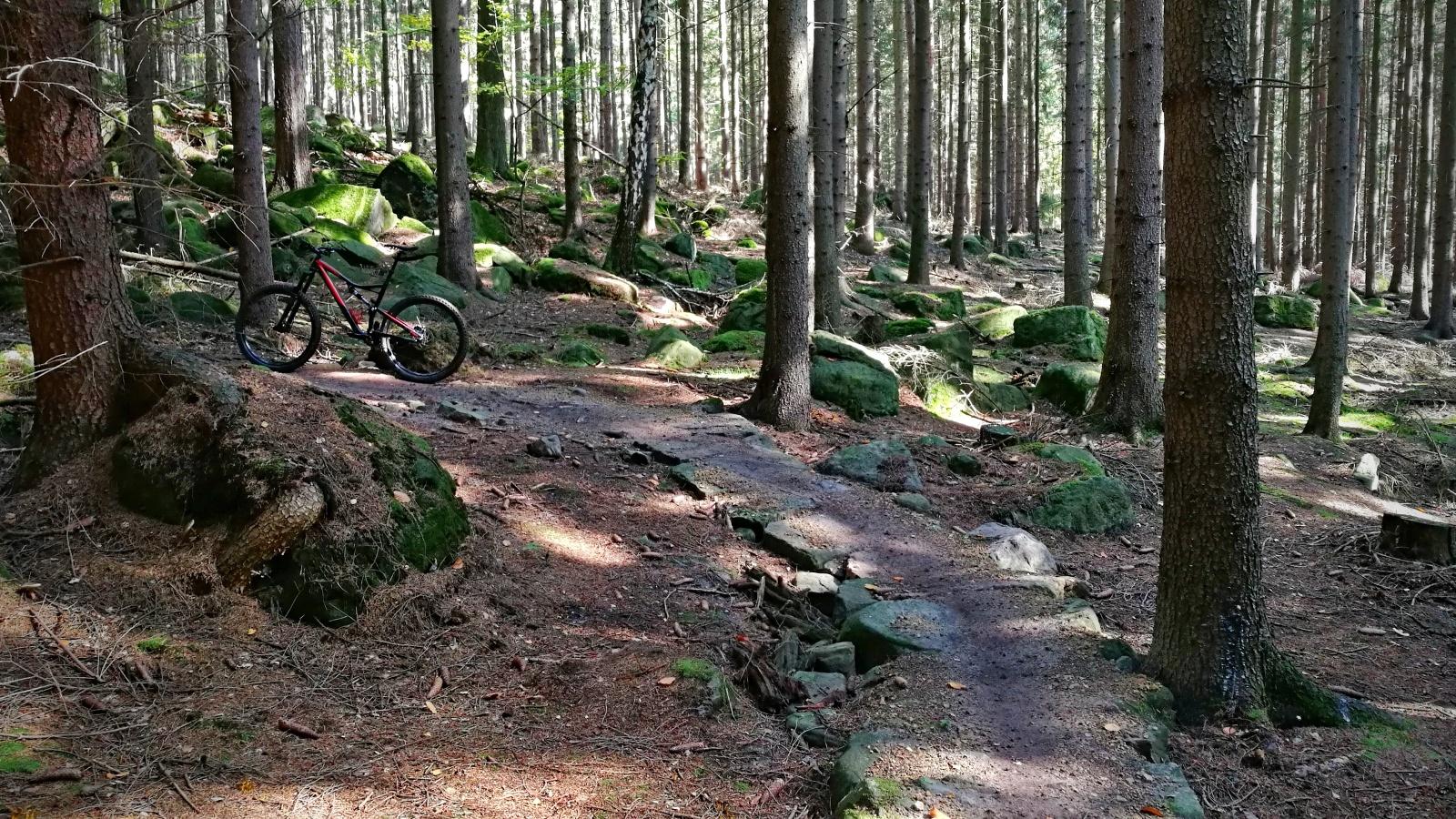 Stoupací trail