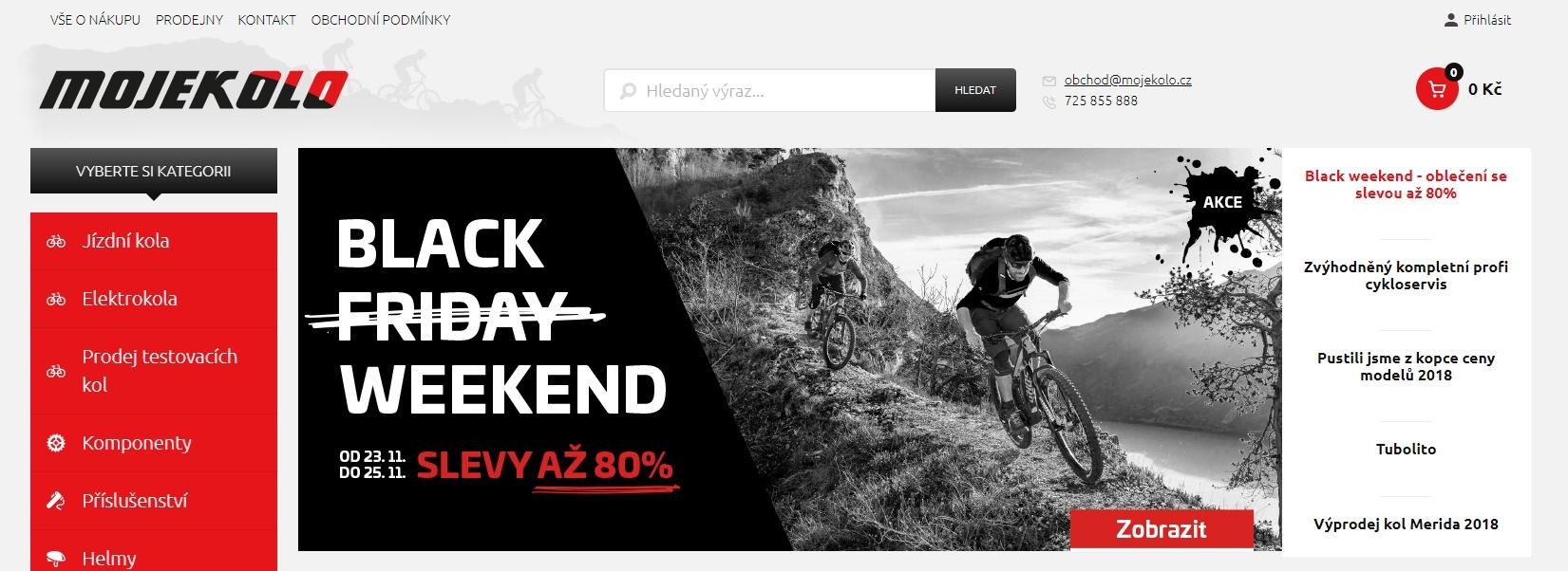 Black Friday se týká i kol. Dnes můžete nakoupit levněji nebo s ... f56faa26b6