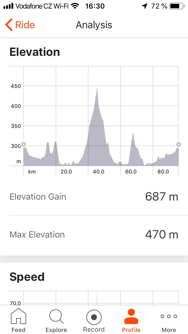 Aplikace pro záznam trasy 5