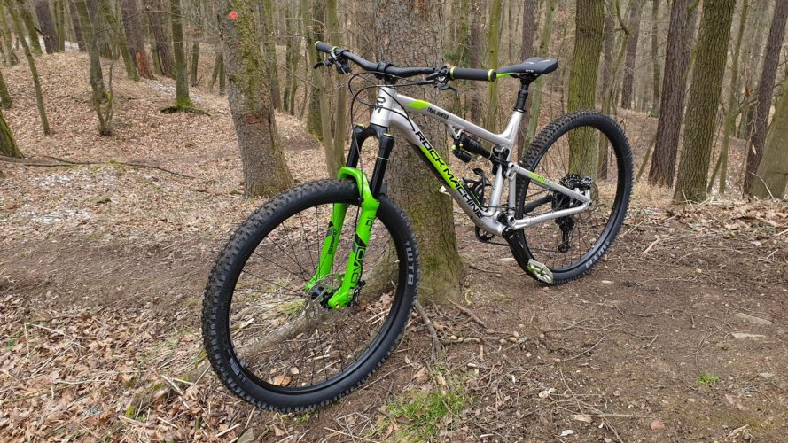 Rock Machine Blizzard TRL: Kolo na lov trailů (test)