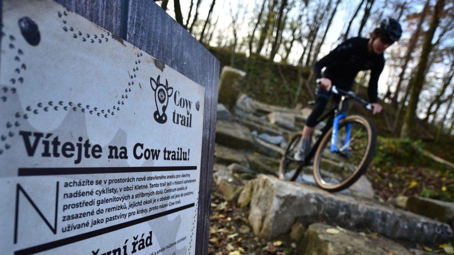 Další kus trailu na severu Moravy: V Kletném otevřeli Cow Trail